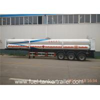 Wholesale 8 Tubes 3 - Axle CNG Tank Trailer with Mechanical / Air Suspension from china suppliers