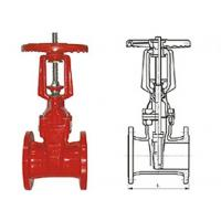 Wholesale Ductile cast iron RRHX rising stem resilient seated gate valve for fire protection API 598 from china suppliers