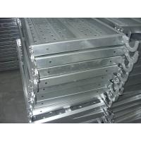 Wholesale Width 400mm Metal Catwalk pre - galvanized steel scaffolding planks from china suppliers