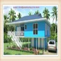 Wholesale Light Steel Framing Wooden Home Beach Bungalow from china suppliers