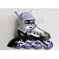 Wholesale Anti-Wrinkle Mesh Junior Adjustable Inline Hockey Skates / Roller Hockey Skating Shoes from china suppliers