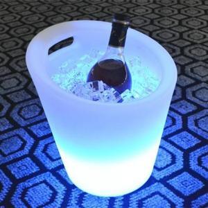 China Portable Illuminated Ice Bucket , Waterproof LED Ice Bucket Party Cooler on sale