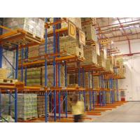 Wholesale Steel spray powder coating finished very narrow aisle racking system from china suppliers
