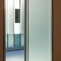 Buy cheap Frosted glass, for doors and office partitions decoration, customized size, accept small order from wholesalers