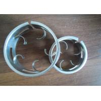 Wholesale Lower Pressure Raschig Super Ring , Metal Tower Packing For Common Decompression from china suppliers