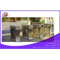 Wholesale Butterfly RFID Turnstile Security Products with Intelligent Fingerprint Function from china suppliers
