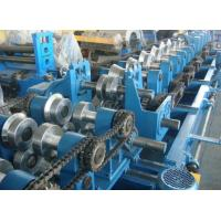 Wholesale Customized CZ Purlin Roll Forming Machine , Electric Fully Automatic C Purlin Machine from china suppliers