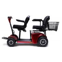 Wholesale Two seats Electric Mobility Travel Scooter For Elder , Handicapped Folding Electric scooter from china suppliers
