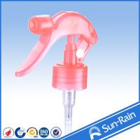 Wholesale Custom Red chemical resistant trigger spray heads , bottle spray pump trigger from china suppliers