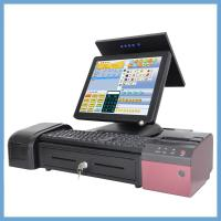 Wholesale 5 Wire True Flat Resistance Pos Cash Register With WIFI And MSR 15 Inch from china suppliers