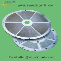 Wholesale paper processing machinery stainless screen plate from china suppliers