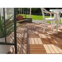 Wholesale anti-scratch and moistureproof recycled outside wpc DIY decking tiles310*310*25mm (RMD-D9) from china suppliers