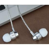 Wholesale 2017 best sellers metal earphone mobile-phone headphone in-ear earphone fashion aluminium headphone from china suppliers