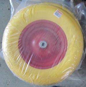 Wholesale Lauching Wheel Flat Free PU Foam Wheel 300-4 Lauching Trolley Wheel Flat Free PU Foam from china suppliers