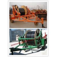 Wholesale pictures cable trailer,cable drum table, new type Cable Conductor Drum Carrier from china suppliers