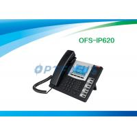 Wholesale POE 3 Way Calling IP Conference Phone 2 / 4 / 6 SIP Lines Backup SIP Proxy Servers from china suppliers