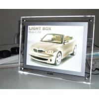 Wholesale Lighting Clear Advertising Acrylic Photo Frames With LED Light from china suppliers