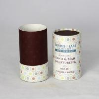 Wholesale Eco-friendly Cylinderl Kraft Paper Can Packaging for Cosmetics and Skin Care Products from china suppliers