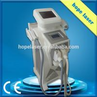 Wholesale Home Beauty Ipl Hair Removal Equipment SHR + RF + Nd Yag + Elight 4 In 1 3 Handles from china suppliers