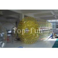 Wholesale Crazy fun double layered Inflatable Water Roller , Interesting inflatable rollers from china suppliers
