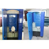 Wholesale Seat Type Rotomoulded Portable Plastic Toilet , Movable Bathroom Modular Containers from china suppliers