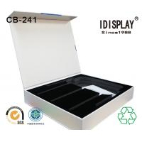 Wholesale Rigid Cardboard High End Magnetic Closure Gift Box With Cut Out EVA / Foam Insert For Phone from china suppliers