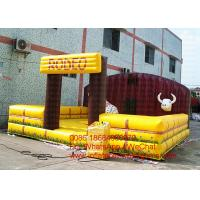 Wholesale Exciting Inflatable Sports Games Mechnical Rodeo Bull For Adults / Kids from china suppliers