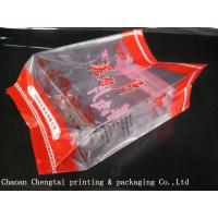 Wholesale Side Gusset Cold Meat Packing Bags Pouch Dry / Solvent Free Lamination from china suppliers