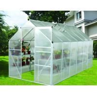 Wholesale 12x6 ft Modular Small DIY Backyard Greenhouse Kits With Powder Coated Metal Frame from china suppliers