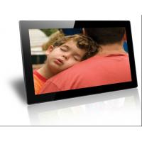 Wholesale Plastic Case Black / White Electronic Picture Frame Wireless Wall Mounting 18.5 Inch from china suppliers