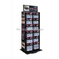 Wholesale Advertising Table Top Metal Acrylic Eyelash Display Stand Rotating For Beauty Product from china suppliers