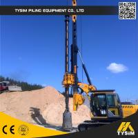 Wholesale Max Drilling Depth Pile Foundation Machine Hydraulic Piling Machine 32 M from china suppliers