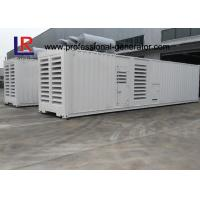 Wholesale Container Type 1000kw Diesel Generator Set with Cummins KTA50-G3 CE Standard , Low Noise from china suppliers