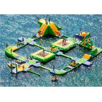 Wholesale Outdoor Huge Inflatable Water Park Rentals 0.9mm PVC Tarpaulin Material from china suppliers