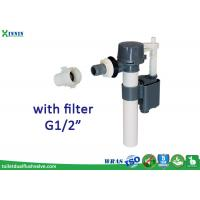 "Wholesale Compact Design Side Entry Fill Valve Plastic Inlet With External Filter G1/2"" from china suppliers"