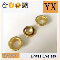 China factory price Oval Brass Eyelets and Grommets High Quality Brass Eyelets for tent