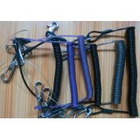 Wholesale Various new designs custom OEM retractable tool coil tether lanyards in different colors from china suppliers