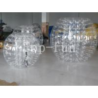 Wholesale 1.2 / 1.5 / 1.8m PVC / TPU Transparent Inflatable Body Bumper Ball For Kids And Adults from china suppliers