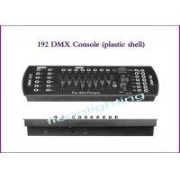Wholesale 192 plastic shell DMXLIghting Controller/DMX512 international standard signal stage lighting console from china suppliers