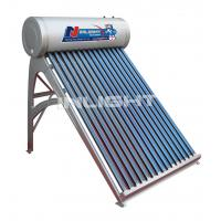 Wholesale 300L galvanized steel low pressure vacuum tube solar water heater from china suppliers