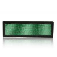 Wholesale Green Programmable LED Name Badge 92x27x7 mm With Mobile Port from china suppliers