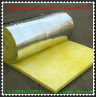 Wholesale Glass wool blanket with reinforce Alum.foil with Yellow PE thermal shrinkage bags packing from china suppliers