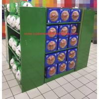 Walmart Cardboard Pallet Display stand with shelves and hooks