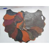 Wholesale Tabacco Color Faux Cowhide Upholstery Fabric Upholstery Faux Leather from china suppliers