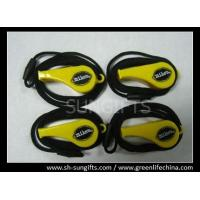 Wholesale Special plastic yellow whistle with customized logo and blue economical lanyard from china suppliers