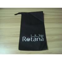 Wholesale Custom logo Printed Cotton, non woven, plastic Black hanging Hotel Laundry Bags from china suppliers