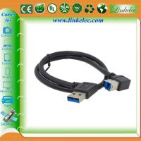 Wholesale USB 3.0 Right Angle A to B Cable ,USB3.0 printer cable from china suppliers