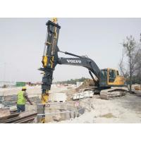 Wholesale Construction Telescopic Boom Grab Foundation Drilling Tools Excavator Telescopic Clamshell from china suppliers