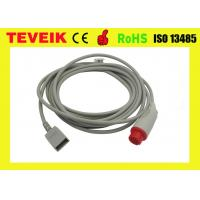 Wholesale HP invasive blood pressure cable round12pin for Utah transducer , HP IBP adapter cable from china suppliers