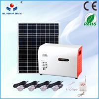 Wholesale stand alone home solar systems solar panel system solar power system home solar lighting system solar generator 220v por from china suppliers